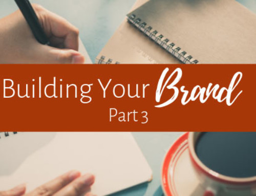 Personal Branding for Authors: Part 3